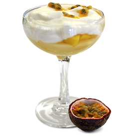 mango passion fruit coup